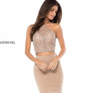 Sherri Hill Two Piece Formal Gown